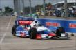 Ryan Briscoe on track. -- Photo by: Chris Jones