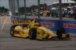 Helio Castroneves in Practice 1. -- Photo by: Chris Jones