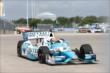 James Hinchcliffe during Practice 1. -- Photo by: Chris Jones