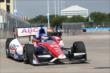 Takuma Sato on track. -- Photo by: Chris Jones