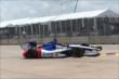 Mikhail Aleshin on track in Practice 2. -- Photo by: Chris Jones