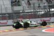 Sebastien Bourdais on track in Practice 2. -- Photo by: Chris Jones