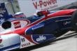 Takuma Sato during Practice 2. -- Photo by: Chris Jones