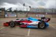 Josef Newgarden heads out on track. -- Photo by: Chris Jones