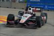 Will Power on track during Practice 2. -- Photo by: Chris Owens