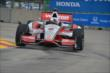 Juan Pablo Montoya navigates a turn in Practice 2. -- Photo by: Chris Owens