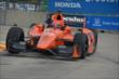 Simon Pagenaud on track in Practice 2. -- Photo by: Chris Owens