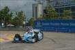 James Hinchcliffe on track in Practice 2. -- Photo by: Chris Owens