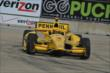 Helio Castroneves on track in Practice 2. -- Photo by: Chris Owens