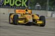 Ryan Hunter-Reay on track in Practice 2. -- Photo by: Chris Owens