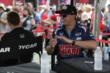 Graham Rahal at the autograph session. -- Photo by: Joe Skibinski