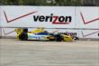 Marco Andretti on track in Practice 1. -- Photo by: Joe Skibinski