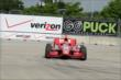 Tony Kanaan on track during Practice 1. -- Photo by: Joe Skibinski