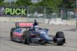 Graham Rahal on track in Practice 1. -- Photo by: Joe Skibinski