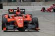 Simon Pagenaud on track in Practice 2. -- Photo by: Joe Skibinski