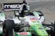 Sebastien Bourdais on track in Practice 2. -- Photo by: Joe Skibinski