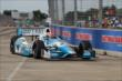 James Hinchcliffe during Qualifying. -- Photo by: Joe Skibinski