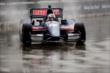 Graham Rahal fights wet conditions in Race 1. -- Photo by: Richard Dowdy