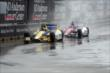 Takuma Sato and Marco Andretti during Race 1. -- Photo by: Richard Dowdy