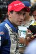 Carlos Huertas is interviewed after his victory in Race 1. -- Photo by: Richard Dowdy