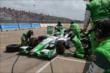Carlos Munoz on pit road during Race 2. -- Photo by: Chris Jones