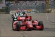 Tony Kanaan leads a pack of cars in Race 2. -- Photo by: Chris Owens