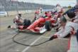 Scott Dixon on pit road in Race 2. -- Photo by: Chris Owens