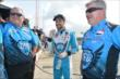 James Hinchcliffe waits with his team for the beginning of Qualifying. -- Photo by: Chris Owens