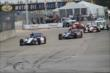 Mikhail Aleshin leads Graham Rahal in Race 2. -- Photo by: Joe Skibinski