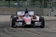 Takuma Sato works in Race 2. -- Photo by: Richard Dowdy