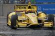 Helio Castroneves in Race 2. -- Photo by: Richard Dowdy