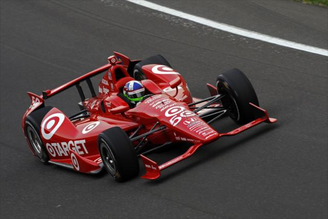 Con il numero 50 a Indianapolis in omaggio ai 50 anni della Targer. indycar.com; LAT Photo USA