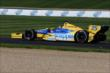 Marco Andretti on track -- Photo by: Bret Kelley