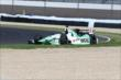 Sebastien Bourdais running wide in a corner -- Photo by: Bret Kelley