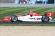 Helio Castroneves on track -- Photo by: Bret Kelley