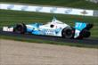 James Hinchcliffe on track -- Photo by: Bret Kelley