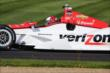 Helio Castroneves on the IMS road course -- Photo by: Bret Kelley