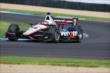 Will Power on track at IMS -- Photo by: Bret Kelley