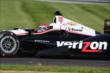 Will Power at IMS -- Photo by: Bret Kelley