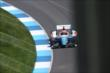 Simon Pagenaud on track -- Photo by: Bret Kelley