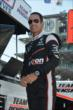 Helio Castroneves in pit lane -- Photo by: Chris Owens