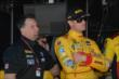 Michael Andretti and Ryan Hunter-Reay in their pit box -- Photo by: Chris Owens