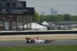 Helio Castroneves at IMS -- Photo by: Chris Owens