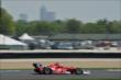 Scott Dixon at IMS -- Photo by: Chris Owens
