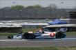 Simon Pagenaud on track -- Photo by: Joe Skibinski