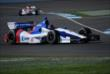 Rookie Mikhail Aleshin drives through IMS -- Photo by: Mike Young