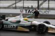 Mike Conway heads out for practice -- Photo by: Chris Jones