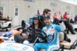 James Hinchcliffe in Gasoline Alley -- Photo by: Chris Jones