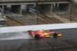Sebastian Saavedra on track in the rain -- Photo by: Chris Jones