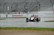 Will Power qualifies in the wet at IMS -- Photo by: Daniel Incandela